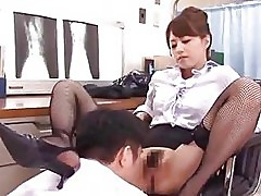 Akiho Yoshizawa Licked By Her Doctor