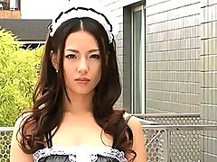 Tiara Ayase sexy lesbian fun while wearing a maids uniform