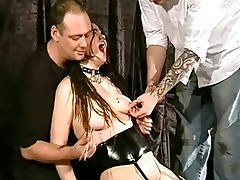 Asian Bitch Sexually Tormented and Nipple Punished