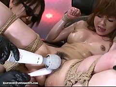 Hardcore japanese bondage with toys