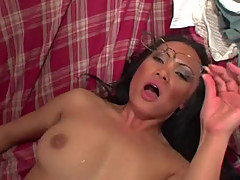 Bewitching Mya Luanna gets her pussy torn up
