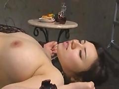 Japanese Lesbians Get Together For Some Slave, Master, Pussy Play