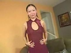 Asian Niya Yu Crave Chocolate Dick