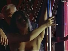 Sexy Asian Babe Performing a Hot Topless Pole Dance - Dot Kill Scene