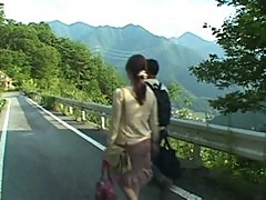 Yumi Kazama and me in village By Saamba