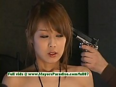 Sakurako, hot asian model gives an amazing blow job