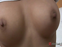 Sexy Asian Girl with Big Tits Fucked Hard