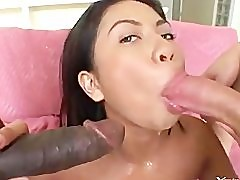 Jade Marcela interracial threesome