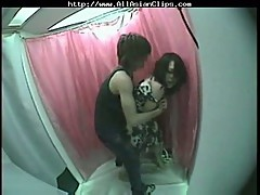 Japanese couple banging on hid cam