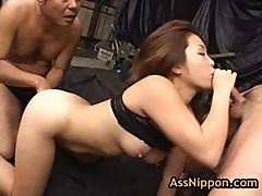 Yuka Matsushita Fucked And Fingered By Two Guys 11 By Assnippon