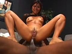 Asian Babe Arcadia Gets Filled Up!