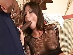 Jayna Oso and Lana Croft share huge black cock