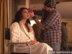 Tera Patrick Prepares For Some Hardcore Sex With Her Make Up