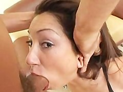 Roxy Jezel gets Brutally Face Fucked & DP.