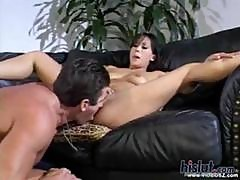 Avena Lee Somehow Manages To Fit Lee Stone Monster Cock