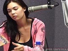 Tera Patrick gives a Radio Interview In Honolulu