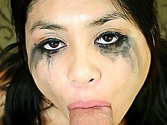 Cute Ruby Luxe Takes A Rough Gag Fucking
